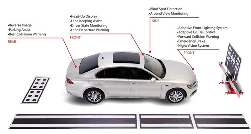 ADAS Calibration - Advanced Driver Assistance Systems