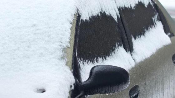 Windshields and heavy snow jiffy auto glass